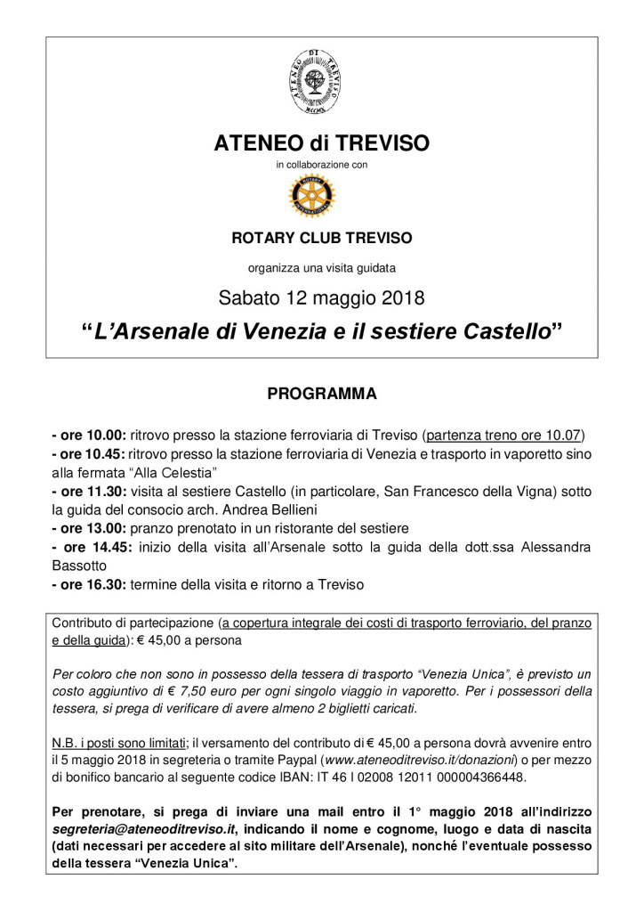Tour Arsenale Venezia 12 5 2018 - jpg